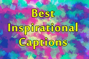 best inspirational captions