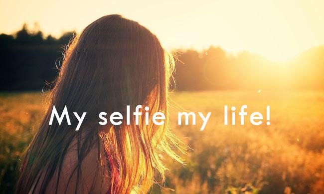 my selfie caption