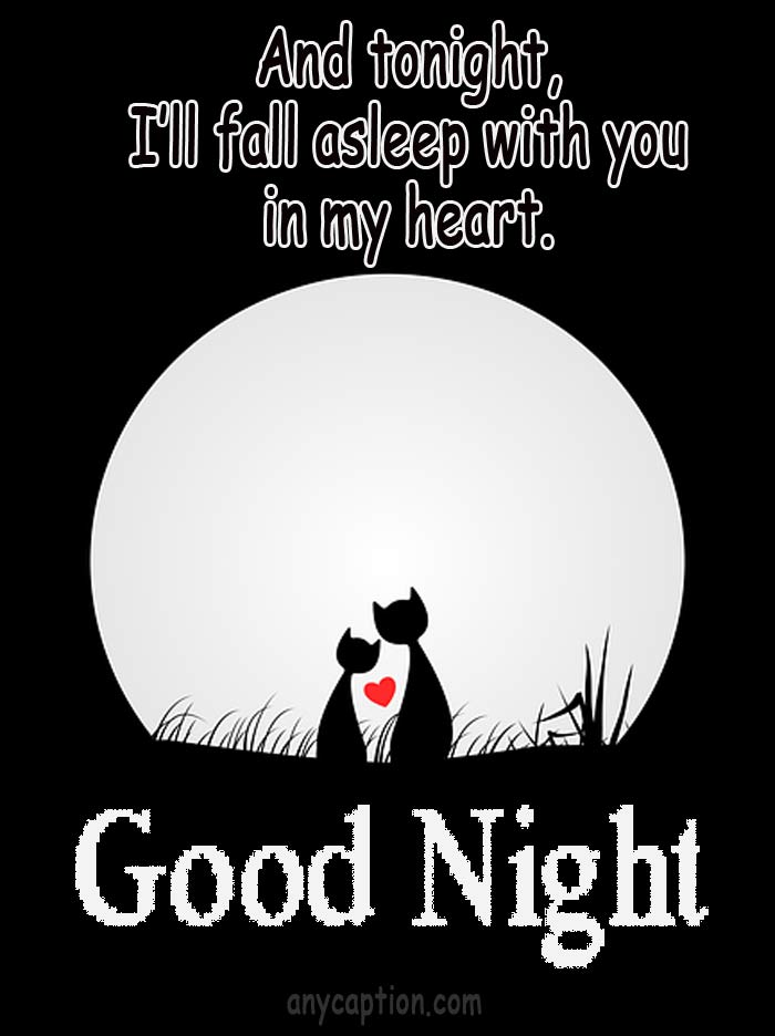 Romantic-goodnight-captions-for-lover