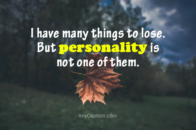 best-personality quote captions