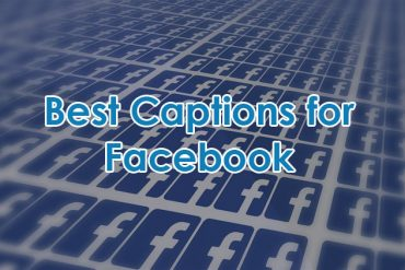 Caption for Facebook Profile Picture, Selfie and Video