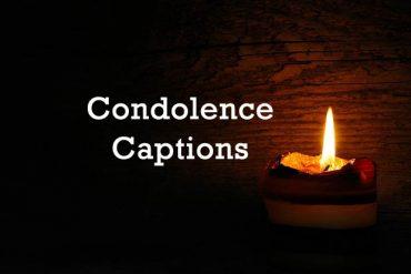 condolence captions
