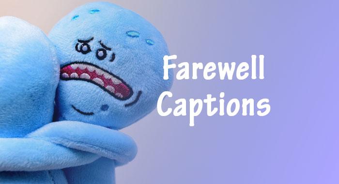 farewell captions