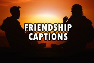 friendship captions