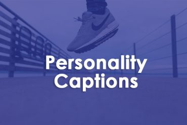 personality captions