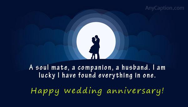 Wedding anniversary captions for couple sweet romantic