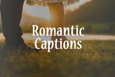 romantic captions
