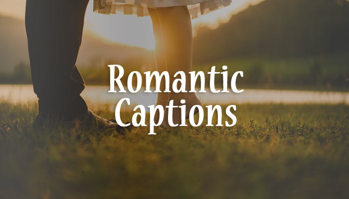 romantic captions