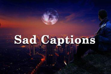 sad captions