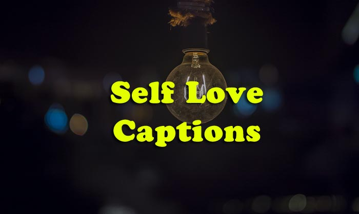 self love captions