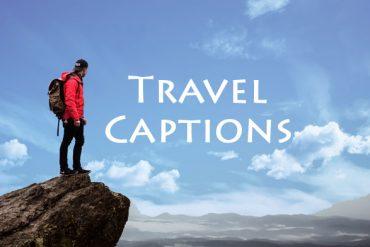 travel captions