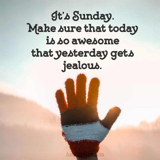 Awesome-Sunday-Captions