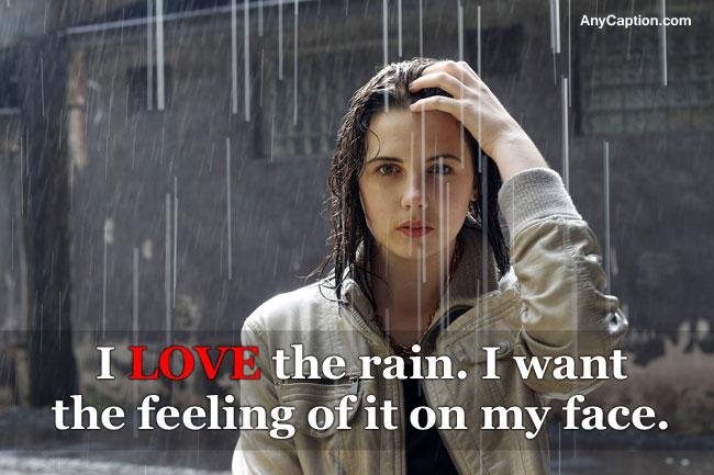 Rain Captions for Rainy Day Selfie, Photo & Video | AnyCaption