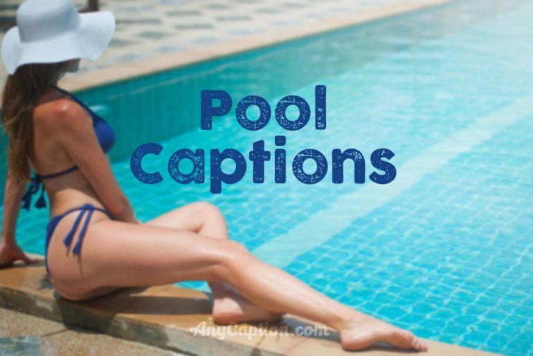 Pool-Captions
