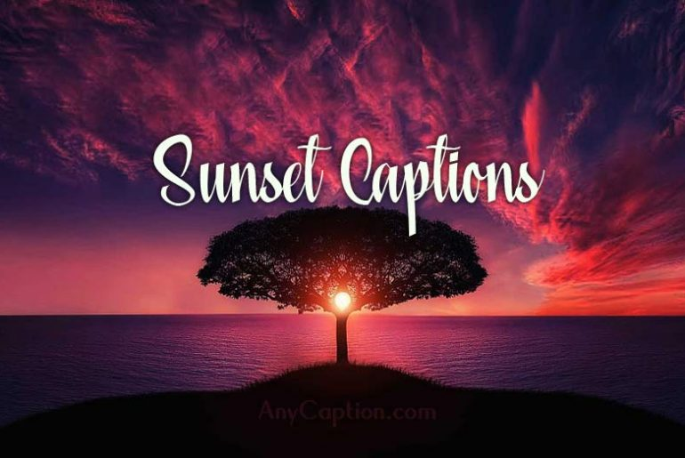 Sunset-Captions