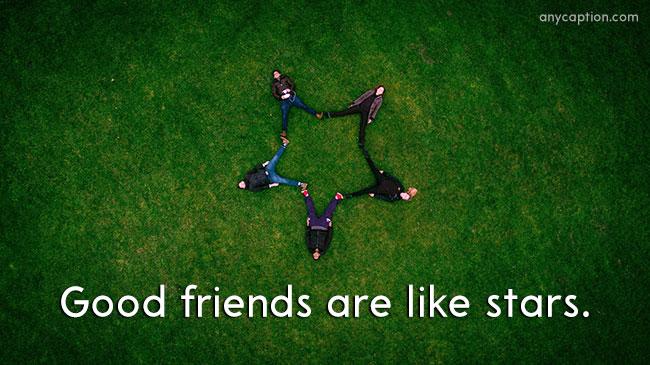 Short Caption for Friends