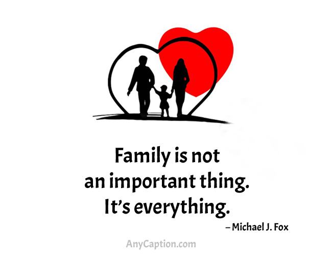 Family Quotes for Photo Captions
