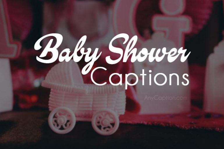 Baby Shower Party Captions