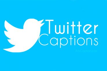 Creative Twitter Captions & Bio Ideas