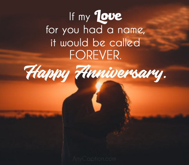 Romantic Love Anniversary Captions