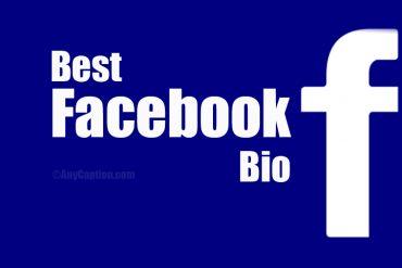 Facebook Bio Ideas
