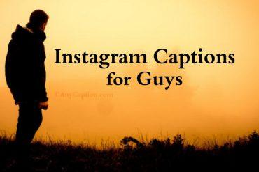 Best Instagram Captions for Guys