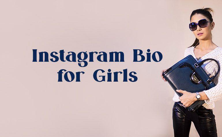 Instagram Bio for Girls