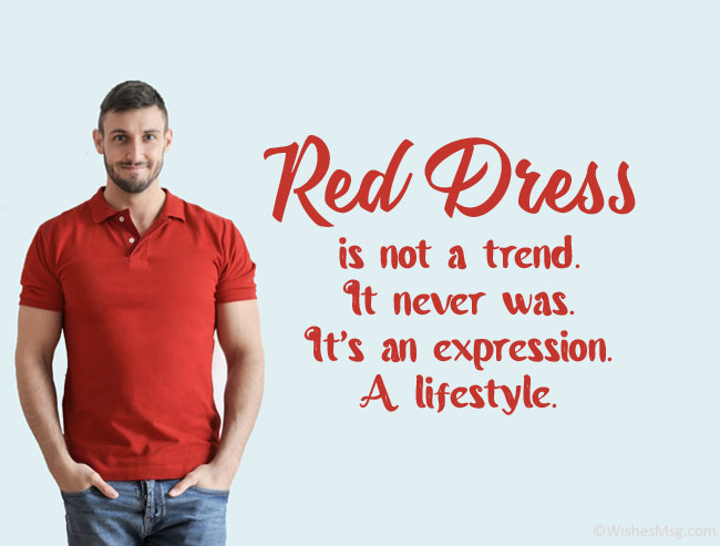 Caption-for-Red-Dress-for-Man